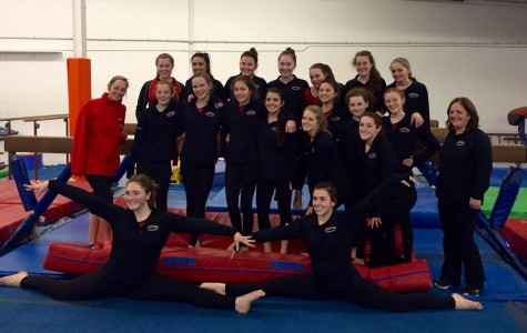 Gymnastics Team Faces Hanover