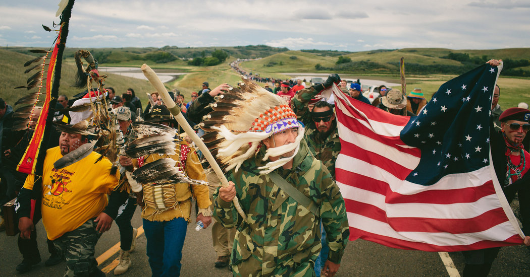 Fearless protesters fight to protect their land.