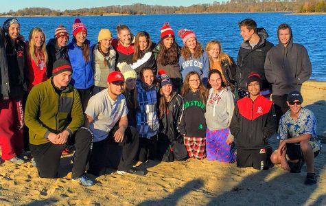 The Swim Team Annual Polar Plunge