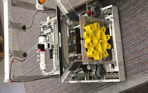 Robotics Team Concludes Build Season