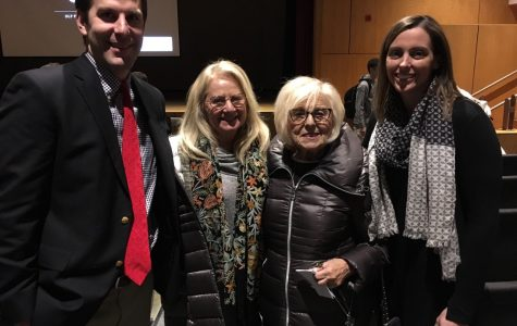 Holocaust Survivor Janet Singer Applefield Visits Hingham High School