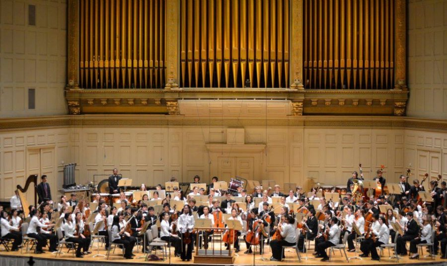 Symphony+All-States+Music+Festival+concert+taken+place+at+Symphony+Hall.++