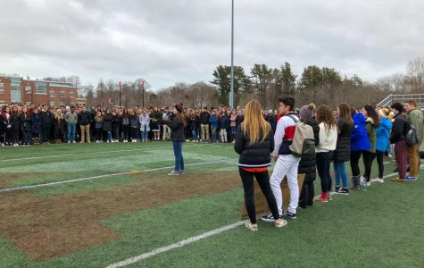 Hingham High Students Join National Walkout