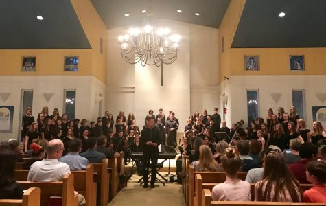 Chorus Performs Annual Major Works Concert