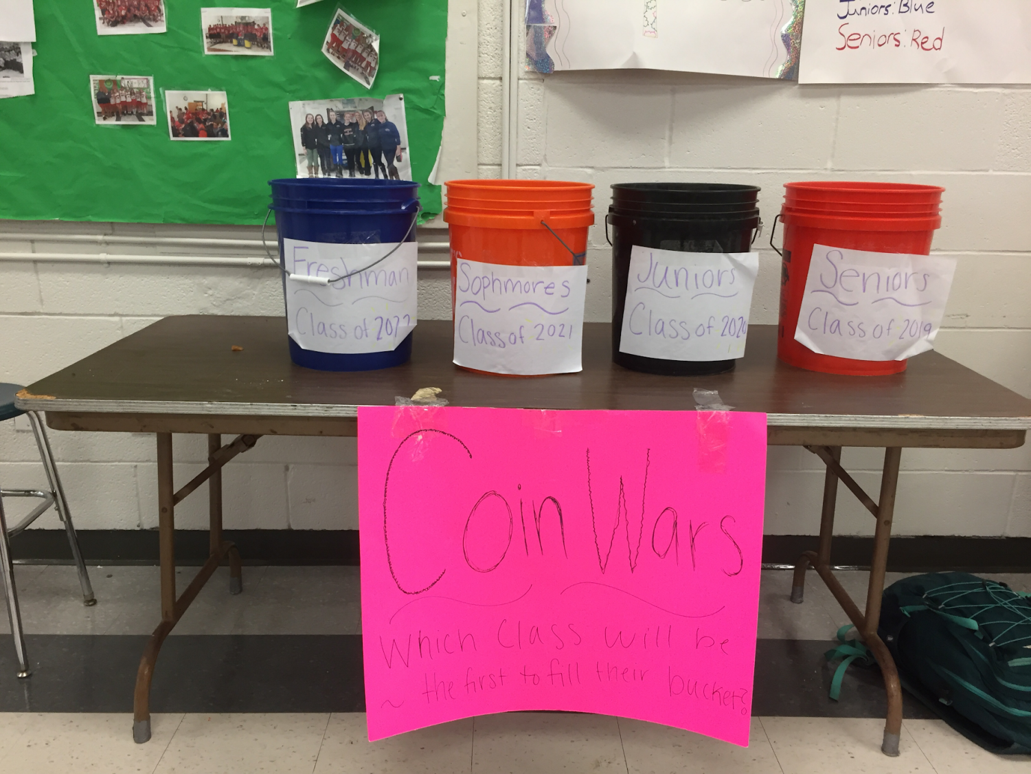 The coin wars pitted class against class for a good cause.