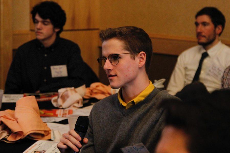 Senior+Will+Bryant+participates+in+Tony+Porter%27s+speech.+Photo+by+Nick+DeSilva.