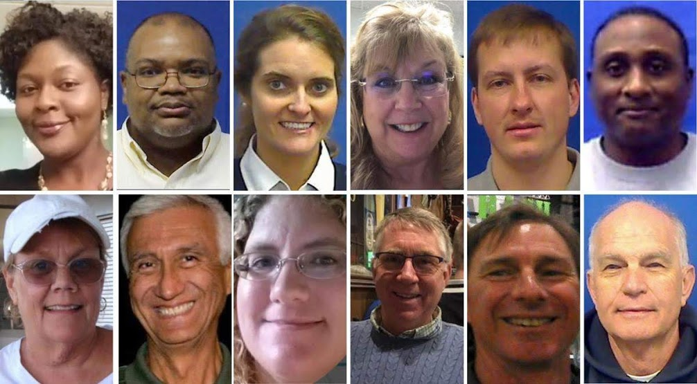 City of Virginia Beach. A collage of the shooting's 12 victims.