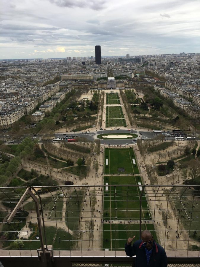 My+view+of+the+city+of+Paris+from+the+top+of+the+Eiffel+Tower.+