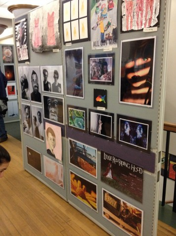HHS Art Show at Town Hall