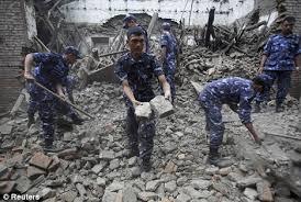 7.8 Magnitude Earthquake Hits Nepal