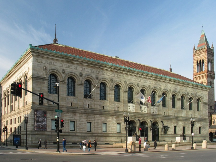 Artwork Missing from the Boston Public Library