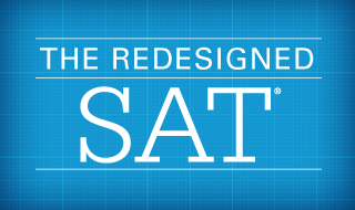 A new version of the SAT will be used this year.