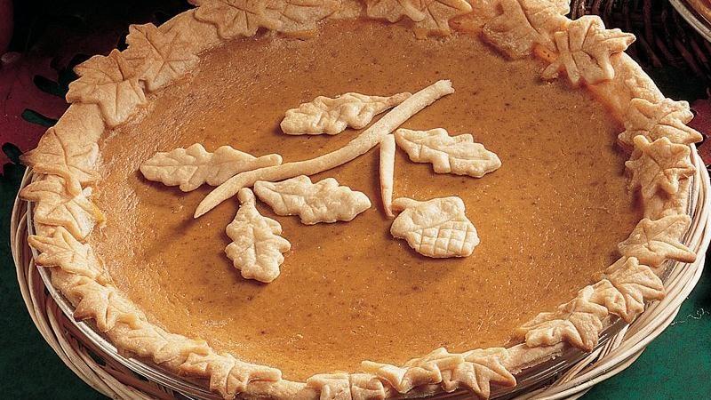 Holiday Pumpkin Pie Recipe
