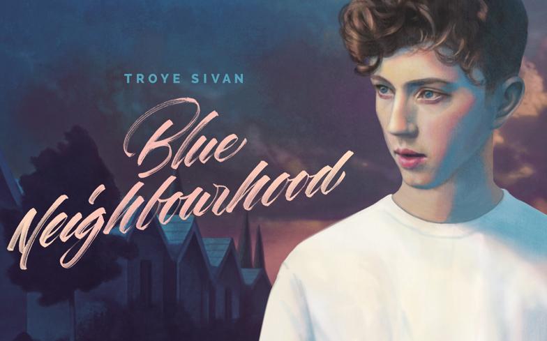 The album cover of Blue Neighborhood