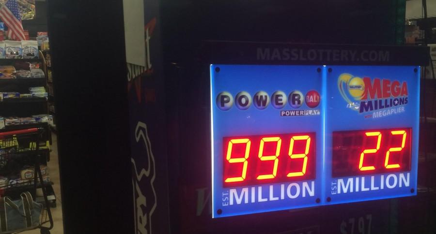 A display of last week's power