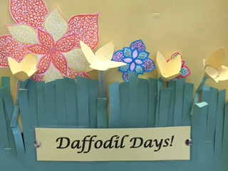 Daffodil Days:  Raising Money and Raising Hope