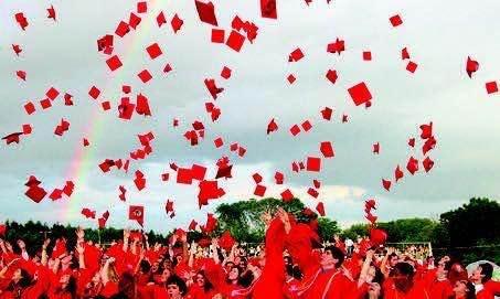 Seniors can't wait to throw their caps in the air.