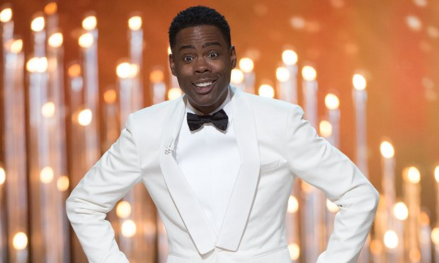 Chris Rock brought humor to an otherwise uncomfortable situation.