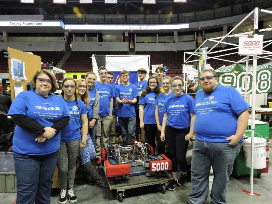 Hingham Robotics Has Successful Season