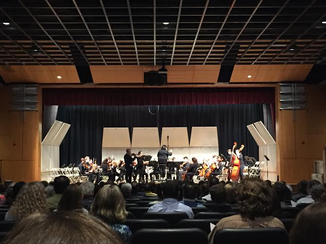 Hingham High School Chamber Orchestra led by Mrs. Sassano