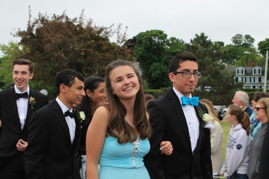 Julia Haskel and Lucas Quintero  look lovely in blue.