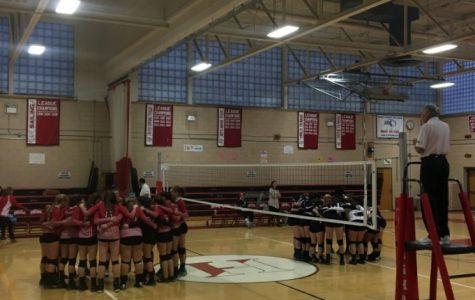 HHS Volleyball: Senior Night 2016