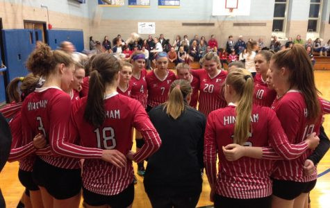 HHS Varsity Volleyball Team Ends a Fabulous Season