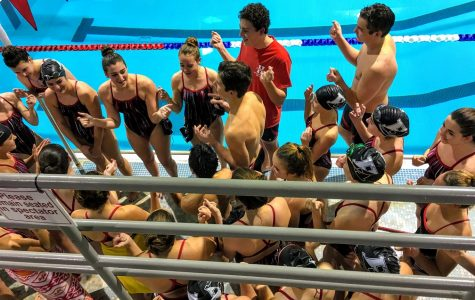 First Meet of the Year for the HHS Swim Team