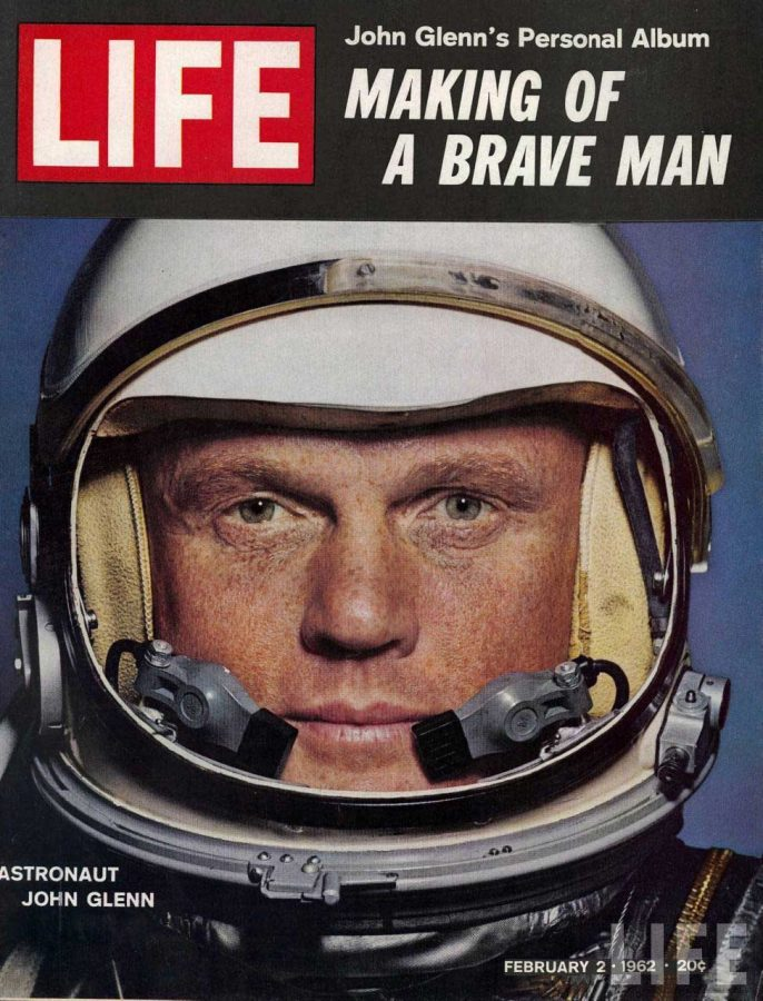 John Glenn, a former Astronaut and US Senator, died last Thursday, December 8th, at the age of 95.