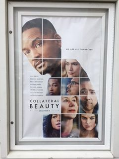 Movie poster for Collateral Beauty.