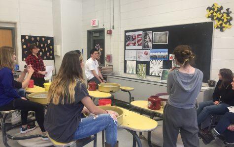 Advanced Art Mid-Year Critique 2017