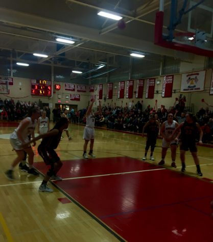 Hingham Girl's Basketball's First Playoff Game of the Year