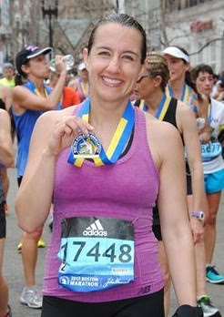 Two HHS Teachers Inspire By Running Boston Marathon