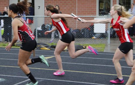A Tuesday Triangular Track Meet