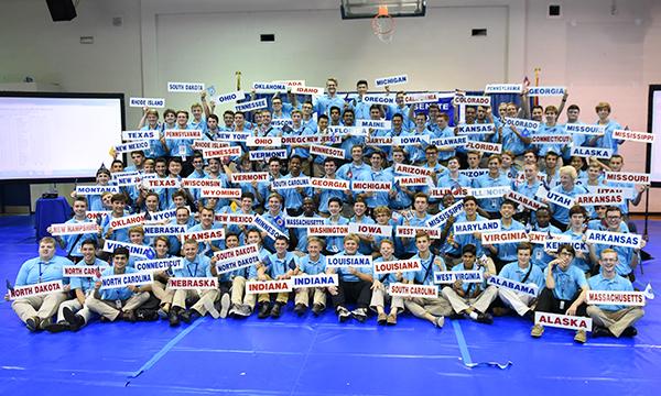 All 98 delegates for Boys' State 2017. (Photo courtesy American Legion)