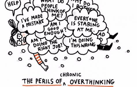 Artist Gemma Correll created a comic series in which this image was shown to depict what it is like to live with anxiety and depression.