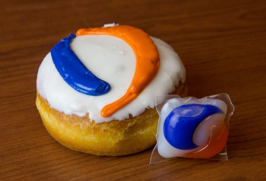 Some bakeries have taken advantage of the challenge to create Tide Pod themed pastries (Daily Nebraskan)