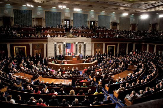 The House of the US Congress (Encyclopedia Brittanica)