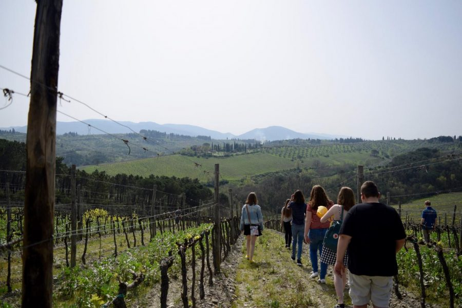 A+view+from+the+rolling+hills+of+Tuscany.+Photo+Taken+by+Mary+Kelly+Prosky+Gilbert