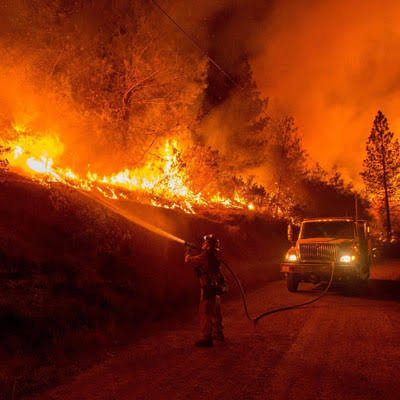 Fires Shatter Records in California
