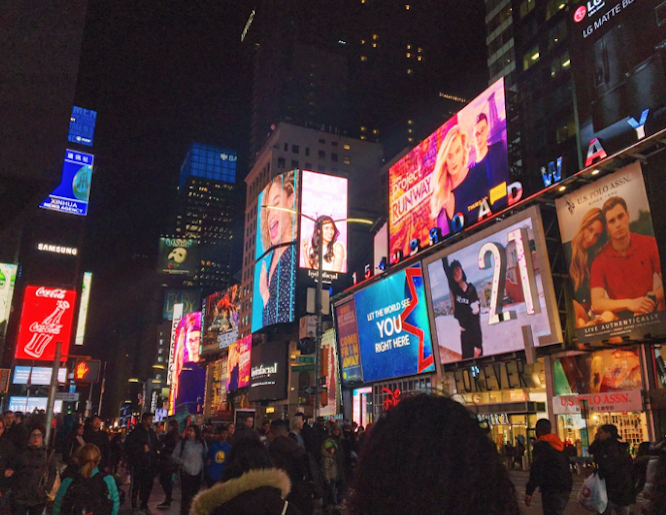Times+Square%2C+the+first+place+the+music+students+went+to.