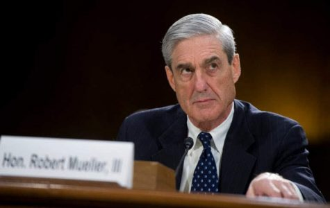 Robert S. Mueller giving his testimony.