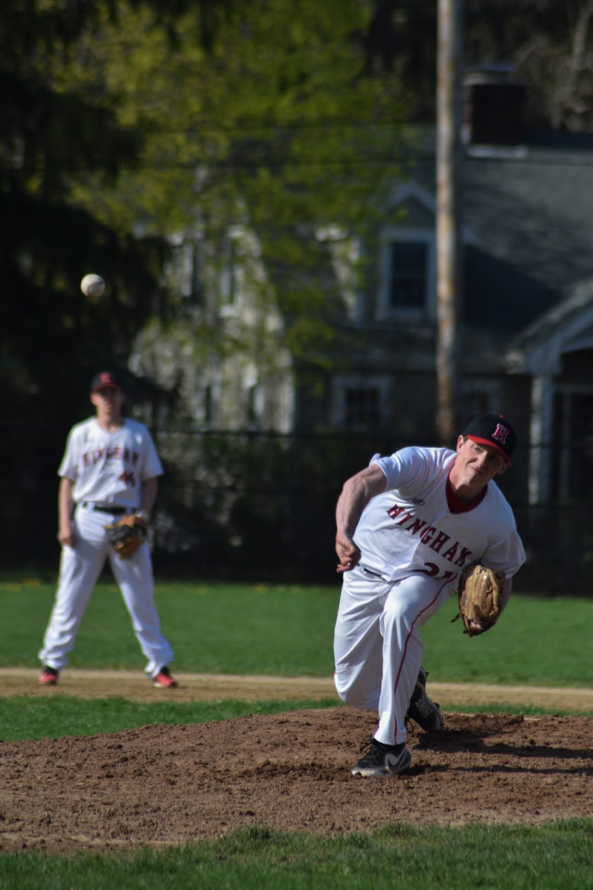 Senior Pitcher Jack Clougherty's lightning pitches and solid hitting gave the Sailors extreme difficulty