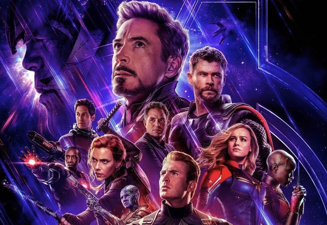 Avengers poster showcasing the large cast (Marvel)