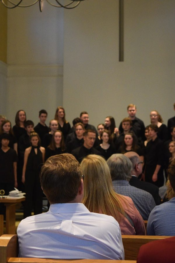 Concert+Choral+opens+the+concert+with+a+beautiful+rendition+of+For+The+Beauty+Of+The+Earth+by+John+Rutter+Mary+Kelly+Prosky+Gilbert