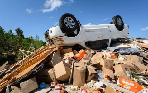 A Series of Tornadoes Plow Through Texas