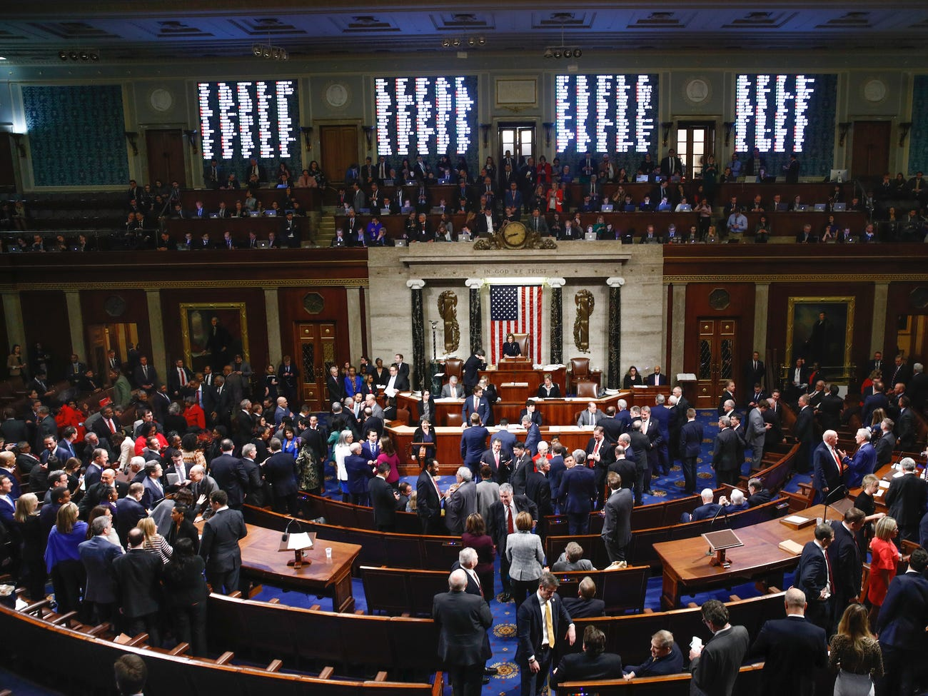The House of Representatives impeached President Trump last Wednesday, December 18, 2019 on two accounts: Abuse of Power and Obstruction of Congress.