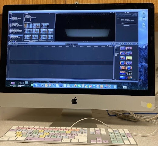 TVP students use Final Cut Pro to edit their videos. They can add music, shorten clips, use advanced features, and much more to enhance their clips.