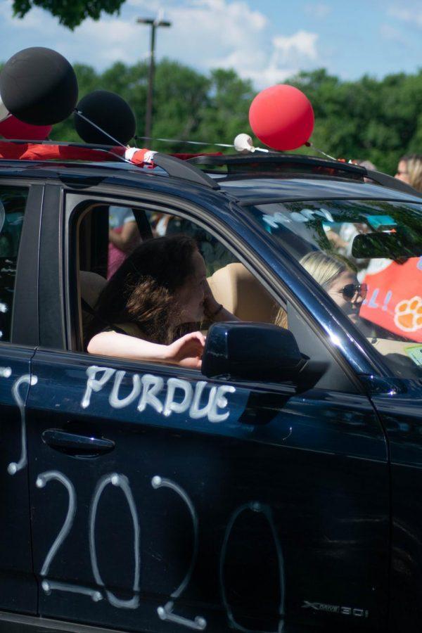 Senior Mary Maffei will be attending Purdue University next year.