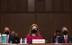 Navigation to Story: Trump Nominee Judge Amy Coney Barrett Sees Confirmation Hearing